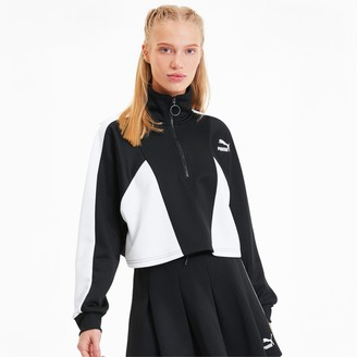 Puma Tailored For Sport Women's Cropped Half Zip Jacket