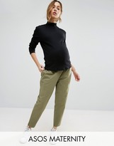 Asos Washed Utility Peg Pant