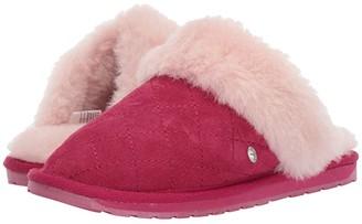 Emu Jolie Quilt (Toddler/Little Kid/Big Kid) (Berry) Girls Shoes