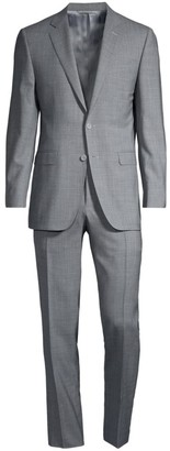 Canali Wool Single-Breasted Suit