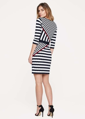 Phase Eight Orianne Stripe Knitted Dress