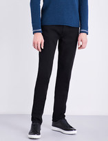 Stone Island Straight skinny-fit mid-rise jeans