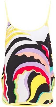 Emilio Pucci Printed Silk Crepe De Chine Camisole