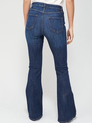 Very Forever Flare High WaistJean - Mid Wash