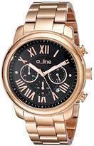 A Line a_line Women's AL-80163-RG-11 Amor Analog Display Japanese Quartz Rose Gold Watch