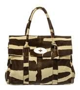 Mulberry Small Bayswater pony-style calfskin handbag