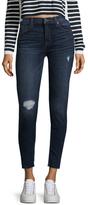 Hudson Natalie Raw Hem Ankle Skinny Jeans