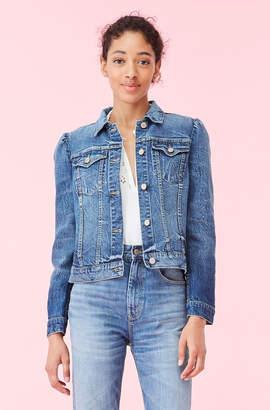 Rebecca Taylor La Vie Stretch Denim Jacket