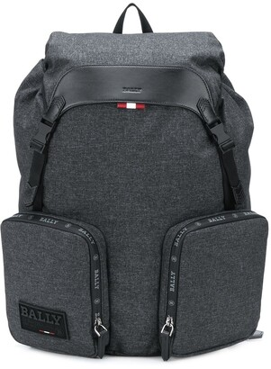 Bally Zipped Pockets Backpack