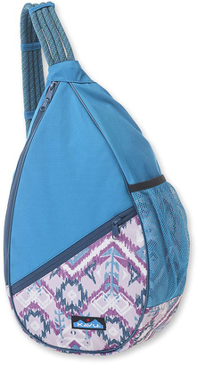 Kavu Women's Backpacks Purple - Purple Ikat Paxton Pack Sling Backpack