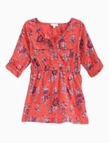 Splendid Little Girl Floral Allover Print Dress