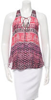 Rory Beca Lily Printed Top w/ Tags