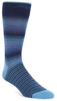 Bugatchi Men's 'Ombre Stripe' Socks