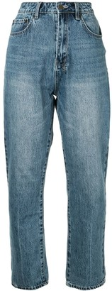 Ksubi Chlo Wasted tapered jeans