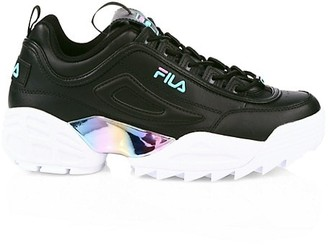Fila Disruptor II Lab Liquid Leather Sneakers