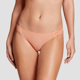 Xhilaration Women's Strappy Hipster Bikini Bottom
