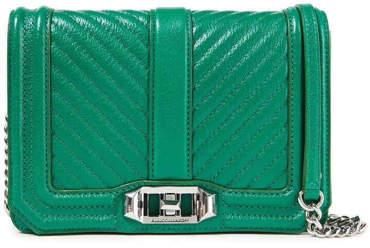 Rebecca Minkoff Love Quilted Textured-leather Shoulder Bag