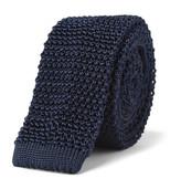 Charvet 7cm Knitted Silk Tie
