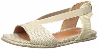 Gentle Souls by Kenneth Cole Women's Lark Elastic Flat Sandal