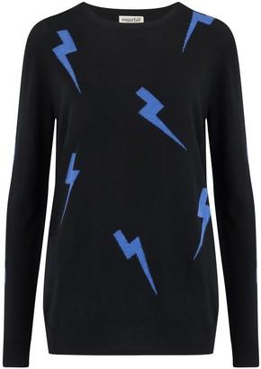 Sugarhill Brighton Velma Lightning Strikes Sweater - Black