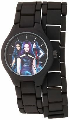 Disney Girls' Descendants 3 Stainless Steel Analog Quartz Watch with Alloy Strap