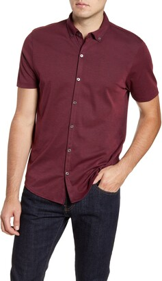 Zachary Prell Caruth Short Sleeve Sport Shirt