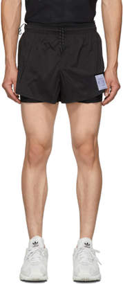 Satisfy Black Long Distance 3 Inches Shorts