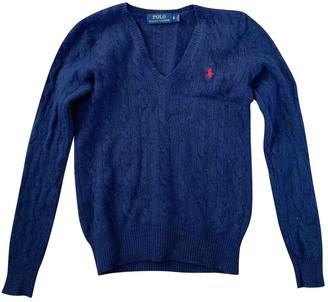 Polo Ralph Lauren Navy Wool Knitwear for Women