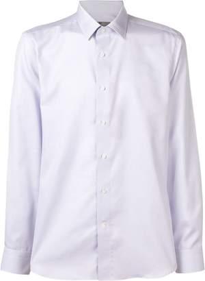 Canali geometric printed shirt
