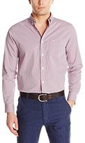 Dockers Comfort Stretch Long Sleeve Micro Check Shirt