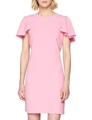 Pinko Women's Attraente Abito Crepe Dress,12 (Size: )