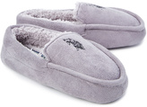 U.S. Polo Assn. Gray & Black Logo Slipper