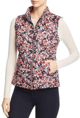 Joules Brindley Ditsy Floral Quilted Gilet