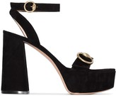 Gianvito Rossi buckled strap chunky sandals
