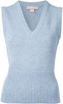 Michael Kors cashmere sleeveless knit top