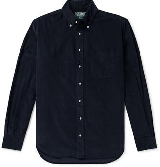 Gitman Brothers Button-Down Collar Cotton Corduroy Shirt
