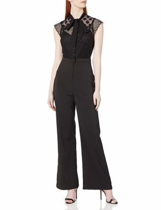 Adelyn Rae Women's Devon Woven Jumpsuit