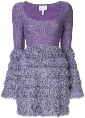 Alice McCall fringed mini dress