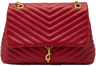 Goodnight Macaroon 'Rebekah' Chevron Faux Leather Shoulder Flap Bag (3 Colors)