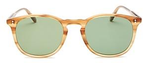 Garrett Leight Men's Kinney Round Sunglasses, 49mm - 100% Exclusive