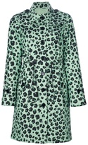 Moschino Cheap & Chic leopard print trench coat