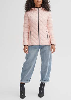 Noize Stella Hooded Quilted Lightweight Puffer Jacket