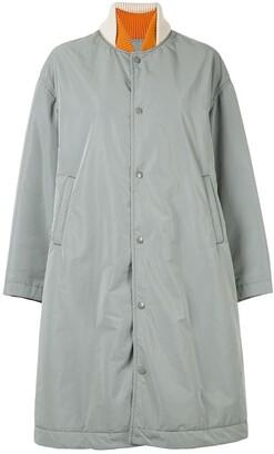 Undercover Mixed Fabric Coat