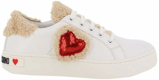 Love Moschino Women's Scarpadonna Cassetta Gymnastics Shoes