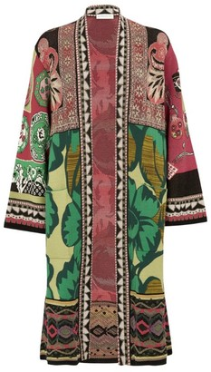 Etro Wool-Blend Jacquard Jacket