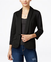 Say What ? Juniors' Open-Front Blazer