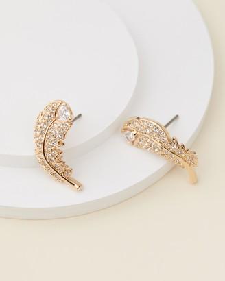 Swarovski Nice Pierced Stud Earrings