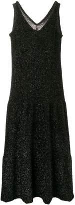 Sara Lanzi glitter sleeveless dress
