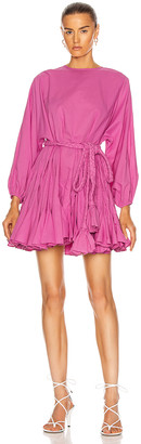 Rhode Resort Ella Dress in Prism Pink | FWRD
