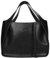 Stella McCartney Tote In Black Faux Leather
